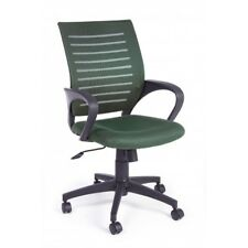 Chair Office With Armrests, Marion Green Woodland