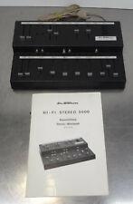 Älteres Mischpult Dr. Böhm Hifi Stereo 3000 Mixer ~ 70er