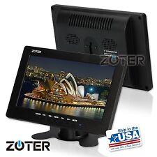 "ZOTER 7"" Inch LCD Mini Monitor Screen BNC VGA Video Input for Home CCTV Camera"
