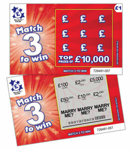 Will you MARRY ME Scratch Card - Unique Wedding Marriage Proposal Valentines