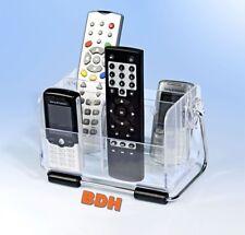 Fernbedienungshalter FB Halter Fernbedienung Ständer Handyhalter Acryl Klar NEU