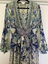 Camilla Silk Long Bell Sleeve Jumpsuit Size 1