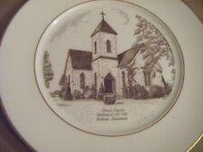 ANTIQUE BASTROP LOUISIANA CHRIST CHURCH 1951 CENTENNIAL Decorative Plate VINTAGE