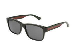 Sunglasses Gucci GG0340S black grey  006 Authentic