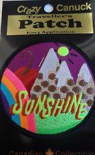 Ski Sunshine Banff Alberta Souvenir Patch Skiing Snowboarding