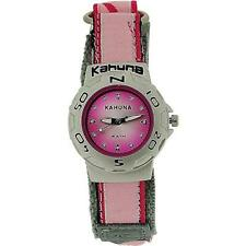 Kahuna Ladies-Girls Analogue Pink  5ATM Water Resistant  Easy Fasten Strap Watch