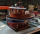 Micro Tug boat M3 1:18 273mm Wooden model ship kit RC model wood model kit