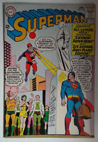 Superman #168 (1964) DC Comics 6.5 FN+ Comic Book All Lex Luthor Issue
