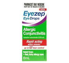 EyeZep Eye Drops For Allergic Conjunctivitis 6ml
