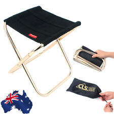AU Ship! Outdoor Fishing Camping Picnic Portable Lightweight Folding Chair Stool