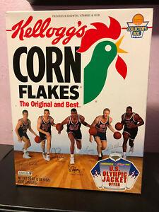 1992 Kellogg's Corn Flakes Dream Team Basektball Larry Bird, David Robinson NEW