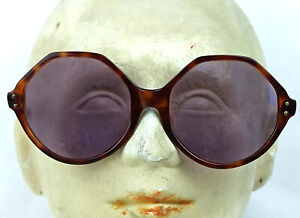 VINTAGE PURPLE LENS SUNGLASSES 50S  OCTAL FRAME ORIGINAL FRANCE HARD TO FIND NOS