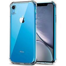 Hülle für Apple iPhone XR Schutzhülle Anti Shock Handy Case Transparent Cover