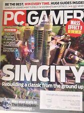 Pc Gamer Magazine Simcity Rebuild A Classic May 2012 082217nonrh