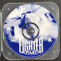 Fighter Pilot PC Video Game Disc - Ready Aim Fire - Rated E 1998 CD ROM 1051607