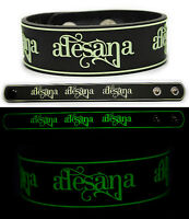 ALESANA Rubber Bracelet Wristband A Place Where the Sun Is Silent  Glows in Dark
