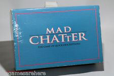 Mad Chatter Board Game from Hersch 1993 COMPLETE (read description)