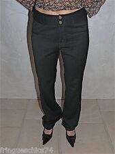 adorable pantalon bcbg fluide noir  MC PLANET taille 38 NEUF ÉTIQUETTE