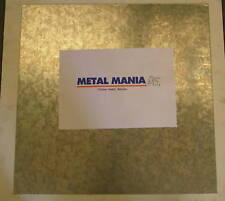 Galvanised steel sheet 1250mm x 1250mm x 1.2mm new