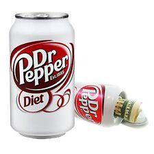 Diet Dr Pepper 12oz Soda Pop Can Safe Hidden Storage Secret Diversion Fake Stash