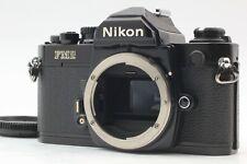 【 NEAR MINT 】Nikon NEW FM2 FM2N 35mm SLR Black Honeycomb Shutter from Japan #757