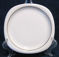 Rosenthal Lanka Suomi Bread Plate with Platinum Band