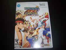 Replacement Case (NO GAME) Tatsunoko vs. Capcom Nintendo Wii - 100% Original