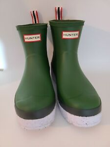 Hunter rain boots short size 10