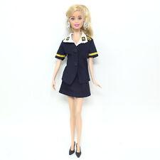 Stewardess dress handmade fashion  clothes for Barbie  doll party AB157
