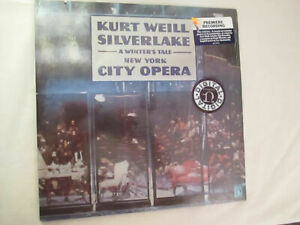 KURT WEILL Silverlake A Winter's Tale 2LP SEALED Nonsuch DB-79003 NY City Opera