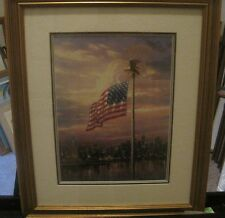 "Thomas Kinkade ""The Light of Freedom"" Official Salvation Army Print"