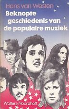 Beknopte Geschiedenis Van De Populaire Muziek music book