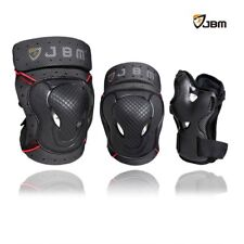 Knee Elbow and Wrist Pads for Adult Protective Bike Riding Skateboard New