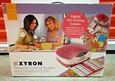 Xyron Personal Die Cutting System Pink w/ 2 Design Books Blade & Mat Sealed NIB