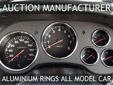 Toyota Supra Mk4 96-02 Chrome Cluster gauge Dashboard rings Trim instrument x5