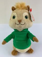Ty Beanie Baby Theodore Alvin and the Chipmunks Plush Theo With Tags