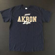 NCAA University Of Akron Zips Blue T-Shirt Mens Large