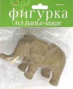 Фигурка из папье-маше СЛОН,2-593/09