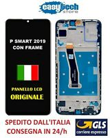 LCD Display Touch Screen Vetro FRAME SCHERMO Huawei P SMART 2019 POT-LX1  Nero