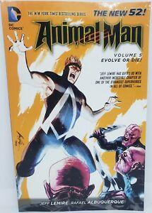 DC COMICS Animal Man vol.5 Evolve or Die! By Jeff Lemire (2014, trade paperback