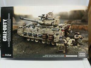 Mega Bloks Call of Duty Desert Tank Building Set COD Brand NEW