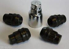 M12 X 1.5 BLACK ALLOY WHEEL LOCKING LOCK NUTS OPEL ASTRA J