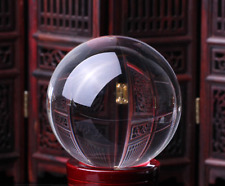 200mm Crystal Ball Gazing Sphere Show Stone Scrying Pool Venue Decor