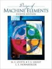 Design of Machine Elements (With CD) 8th Int'l Edition