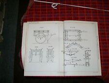 FOLDING WHEELBARROWS, HANDCARTS PATENT. THOM, KILMARNOCK. 1896