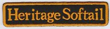 Embroidery Iron On patch Harley Davidson Heritage Softail