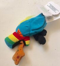 """Meanie Beanie Babies """"Hurley"""" Pukin Toucan Meanies Series 1 (1997)"""
