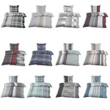 Feinbiber Biber Bettwäsche Reißverschluss 135x200 + 80x80cm 2-teilig Baumwolle