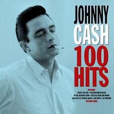 Johnny Cash - 100 Hits (4CD 2017) NEW/SEALED
