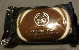 The Body Shop Coconut Soap 3.5 oz New!